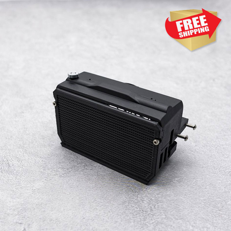 RC Crawler Parts FANT Jkmax Sound Box  Only (for Ess One) Simulation Water Tank Equipment Box Option Op Part