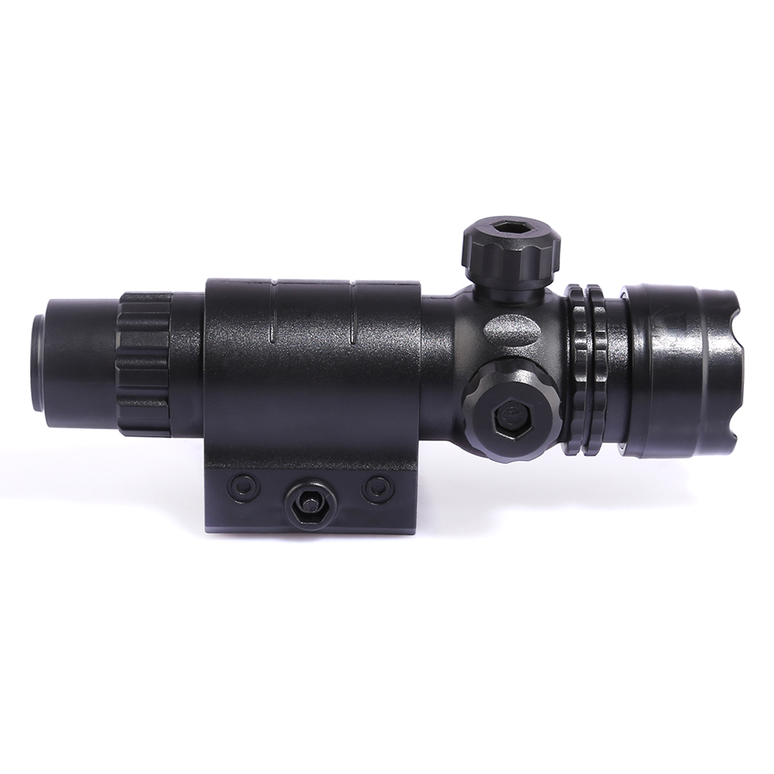 Tactical Plastic Adjustable Infrared Laser Lamp Light For Nerf Black Front Tube Decoration