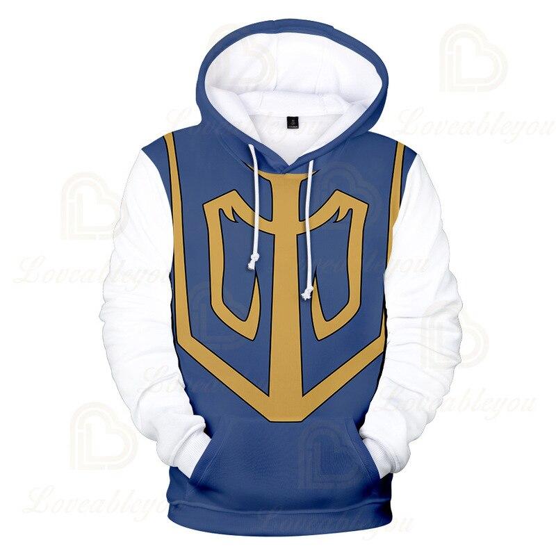 Купить аниме hunter косплей hisoka jie kurapika 3d печать унисекс пуловер