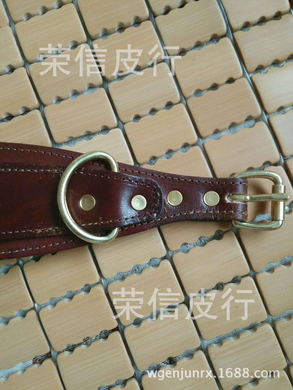 Special Offer Processing Leather Strips Hand Holding Rope Pet Dog Cat With Cattle Pippi Neck Ring