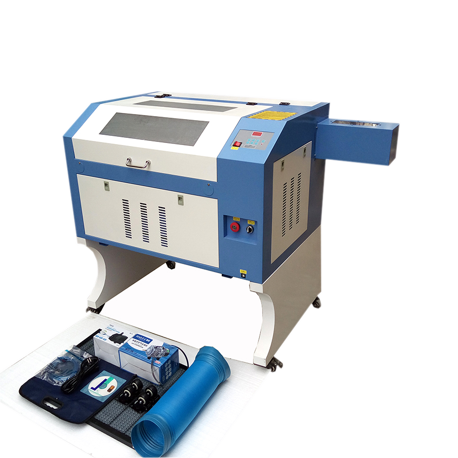 4060 50w 60w 80w 100w M2 CO2 Laser Engraving And Cutting Machine Acrylic Plastic Rubber Wood Glass
