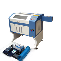 small mini 4060 paper wood wine bottle cnc co2 laser engraving cutting machine engraver 60w