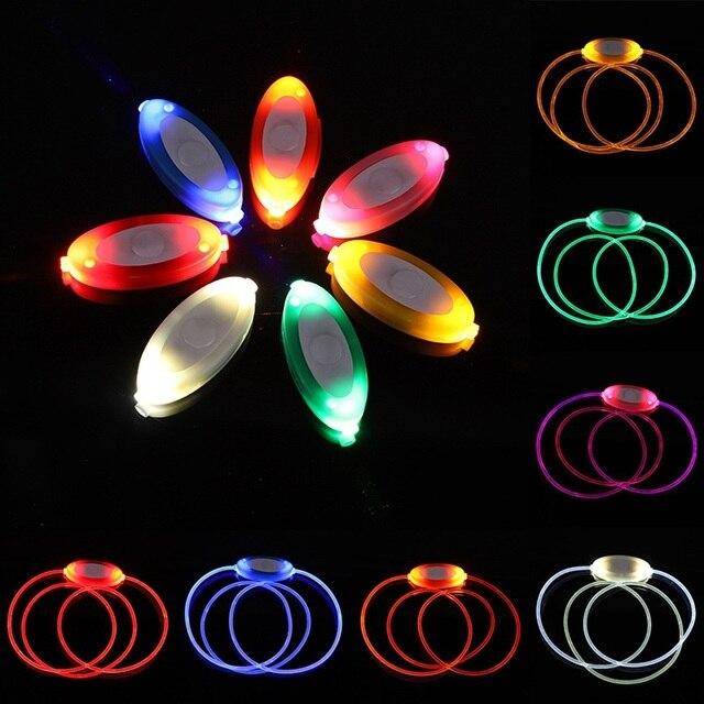 Светящийся ошейник светодиодный собак светодиодная подсветка