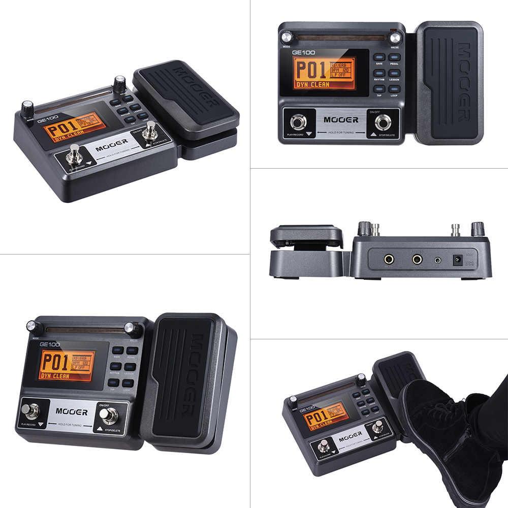 Gitarre Multi-effekte Prozessor Wirkung Pedal mit große LCD display 8 wirkung module Schleife Aufnahme (180 Sekunden)