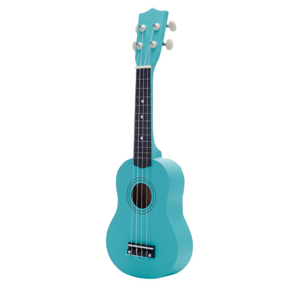 Small Guitar Ukulele Musical-Instrument Wooden 21-Inch Piano Toy-Color Playable Children
