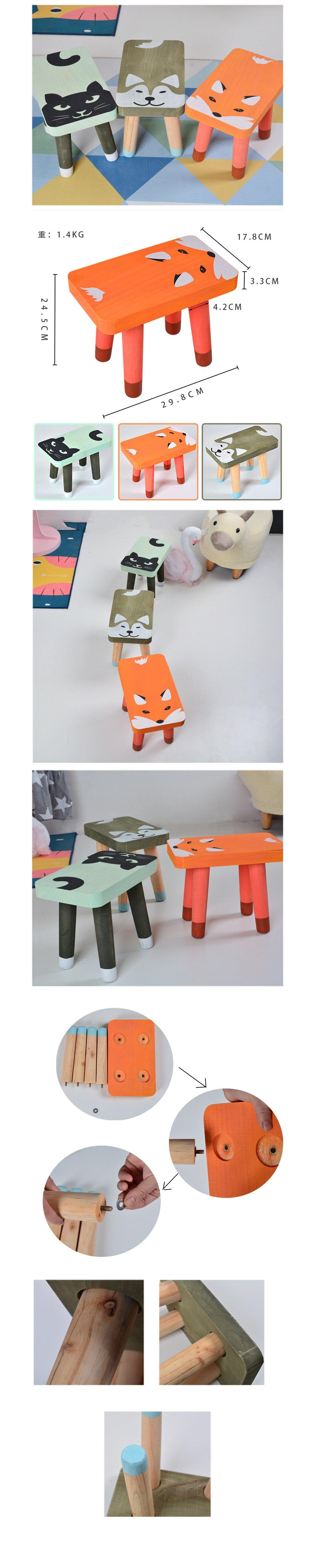 Современный деревянный стул для детей ясельного возраста мебель