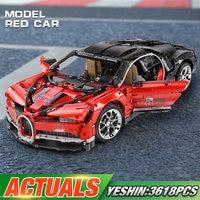 20086B Technic Car Toys Mini Building Blocks Bricks The 42083 Red Bugattis Car Set Assembly Car Model Toys Kids Christmas Gifts