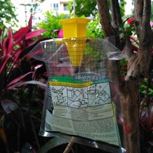 Fly Trap Catcher Hanging Bait Bag Flytrap Bag Killer Flies Disposable Attractant bag Fly trap Pest Control for Garden Home Yard