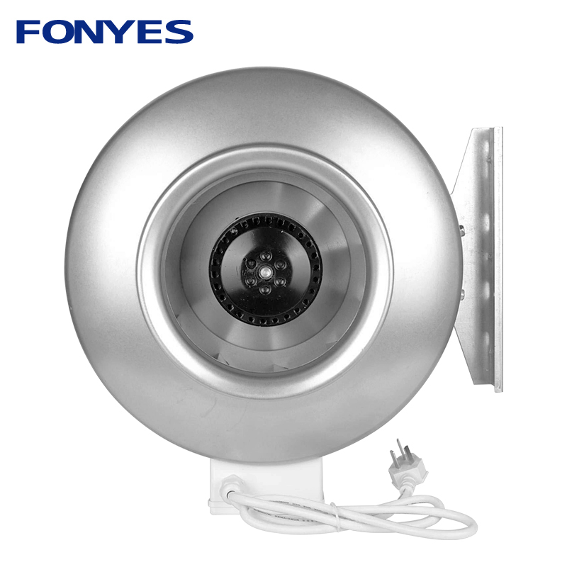 fans for 200mm round ducts inline ducted fan exhaust fan extractor kitchen pipe fan centrifugal blower for long distance 220V