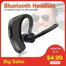 Blutooth fone de ouvido bluetooth fone estéreo sem fio fones v8 mãos livres com microfone para iphone samsung huawei telefone