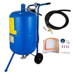 20 Gallon/75L Sandblaster Bead Pot Sand Blaster Grit Blasting Blast Sandblasting Machine