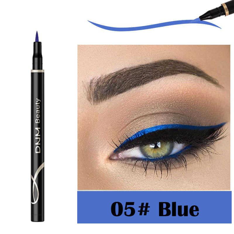 DNM12 couleur couleur Eyeliner stylo pas floraison Eyeliner longue durée étanche et anti-transpiration liquide Eyeliner TSLM1