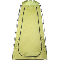 High quality portable shower toilet tent camping tents outdoor waterproof change bathroom sun shelter open up tent