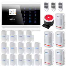 Kerui 8218G IOS Android APP GSM PSTN  Dual Net Security Home Alarm Systems Home Security Burglar  Alarm System Secure System