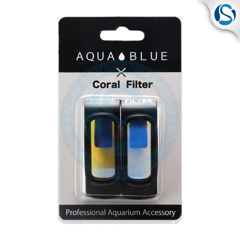 Aquablue Mobile Phone Filter Blue Sea Water Coral Fish Tank Mobile Phone Lens Blue Light Filter Reef Tank Filter