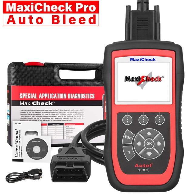 Autel MaxiCheck Pro מיוחד תכונה OBD2 אוטומטי סורק אבחון כלי רכב אבחון סורק Eobd Automotivo 10kit מפעל סורק