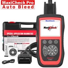 Autel herramienta de diagnóstico Automotriz MaxiCheck Pro, autoescáner OBD2, escáner de diagnóstico de coche, Eobd