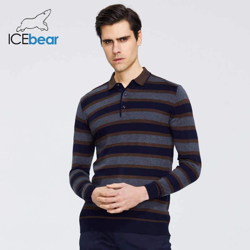 Beruang Es Musim Semi 2020 Baru Pria Sweater Kualitas Tinggi Leher Bulat Sweater Merek Pakaian 1909