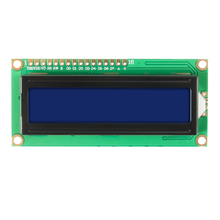 Символ LCD Дисплей Модуль LCD1602 1602 Модуль Синий Зеленый экран 16x2 HD44780 Контроллер синий черный свет