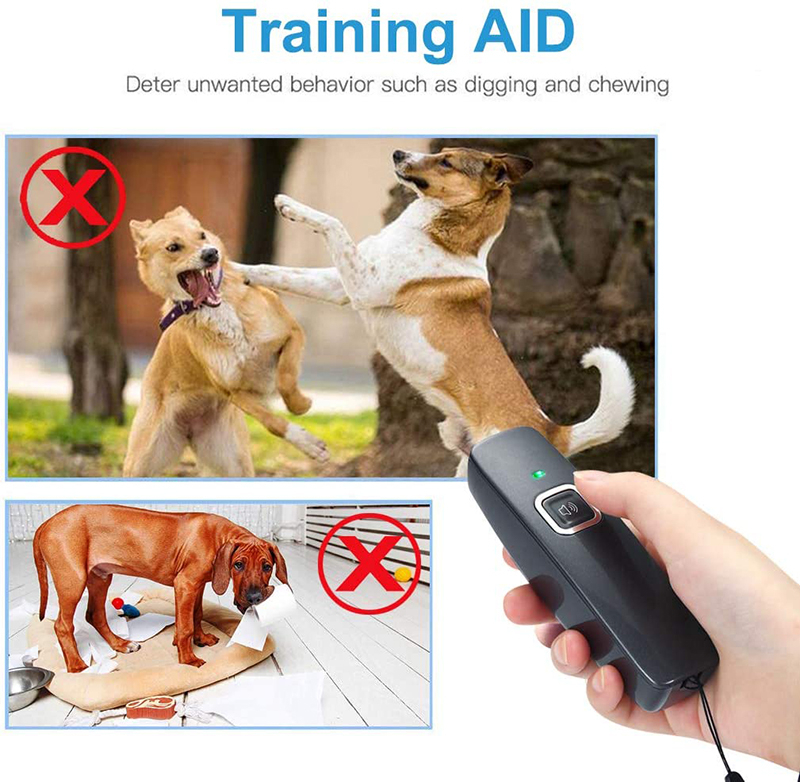 Benepaw Ultrasonic Anti Barking Device Wrist Strap Hand-Held Dog Repeller Bark Control Pet Behavior Training 6m/19ft Range 3