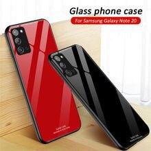 サムスンギャラクシーA51ケース高級ガラス電話ケースをA71 51 70 50 30s A21 s a10 A31裏表紙耐震coque 5グラム