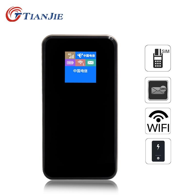 TIANJIE MF768 4G Modem Lte Router Power 8800mah Bank Portable WIFI Pocket Mobile Car Wifi Hotspot Router Modem 4g Wifi Sim Card
