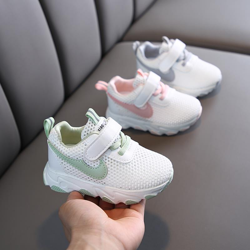 Brand Children Mesh Sneakers Spring Summer Girls Boys Running Shoes Soft Outdoor Shoes Sport Casual Sneakers Girl Shoes For Kids
