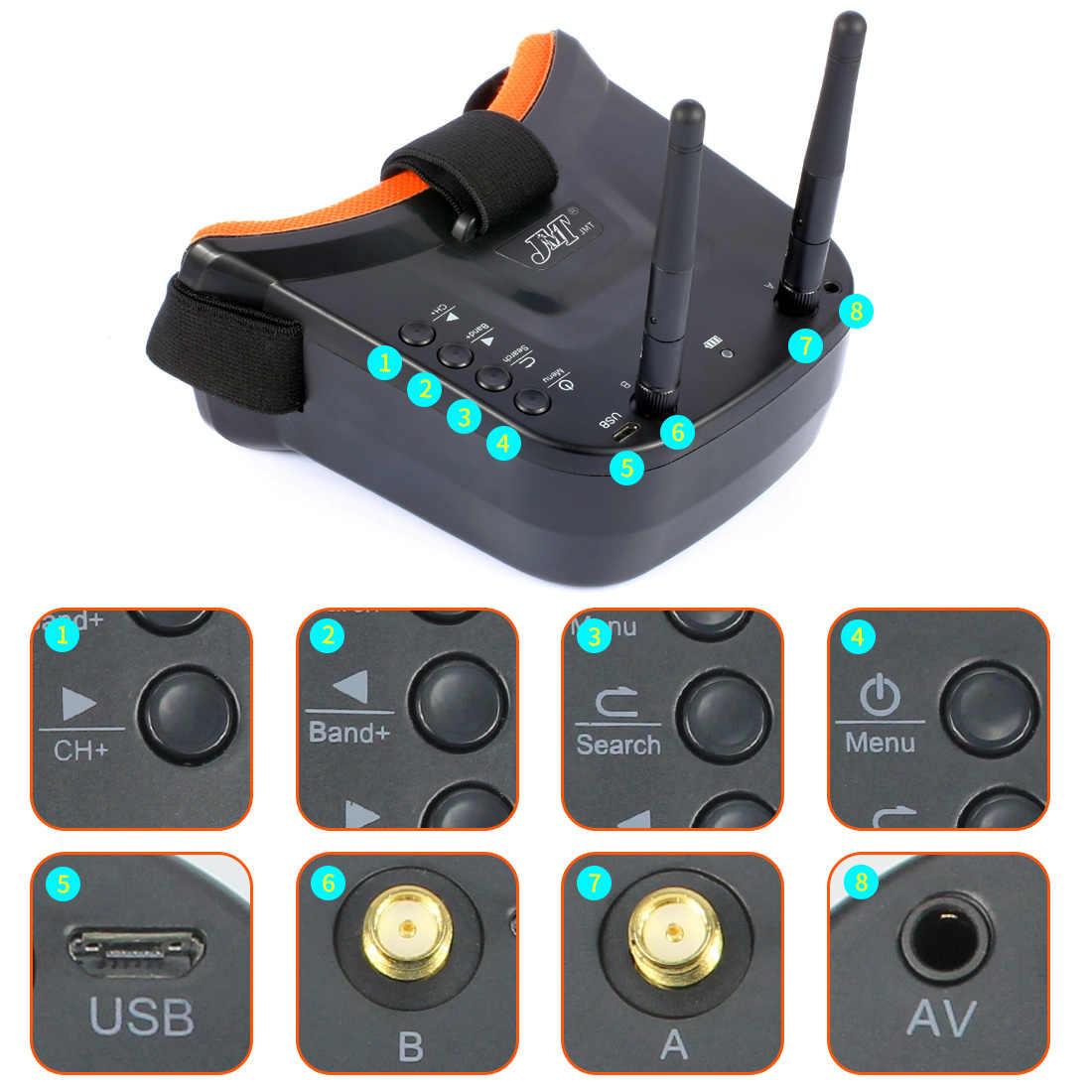 T180 4 pouces 5.8G FPV course Drone HD caméra bébé tortue 800TVL Betaflight F4 Pro V2 OSD Brushless 3S 2.4G 6CH RC quadrirotor RTF