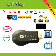 128M Anycast M2 Ezcast Miracast Setiap Cast Wireless DLNA Airplay Cermin HDMI TV Stick Wi Fi Tampilan Dongle Receiver untuk IOS Android(China)