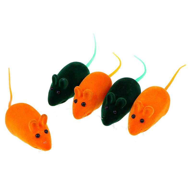 1 Uds falsa sonajero chillón sonido masticable juguete rata ratón para mascotas perro gato gatito juegos para cachorros suena muñecas regalo