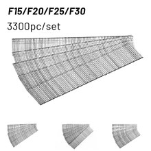 1105pcs F10/F15/F20/F25/F30 Straight Brad Gun Nail For Electric Nail Gun Stapler Nailer Furniture DIY Home/Garden Rivet Tool