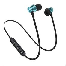 Magnetic Bluetooth 4.2 Earphone Sport Running Wireless Neckband Headset Headphone with Mic Stereo Music For All Smart Phone