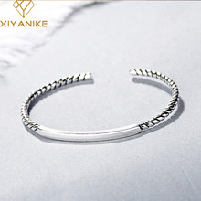 XIYANIKE – Bracelets en argent Sterling 925 pour femmes, petites perles à la mode, accessoires de bijoux, cadeau d'anniversaire de mariage