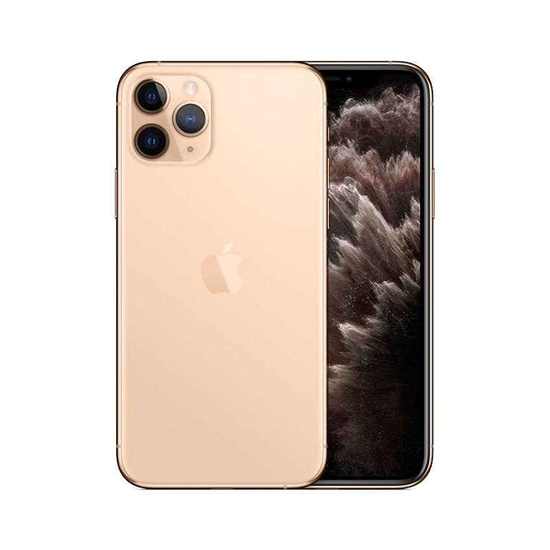 PanTong iPhone 11 Pro 64G 5,8 дюймов настоящий телефон полный экран телефон Apple авторизованный онлайн продавец - Цвет: Gold