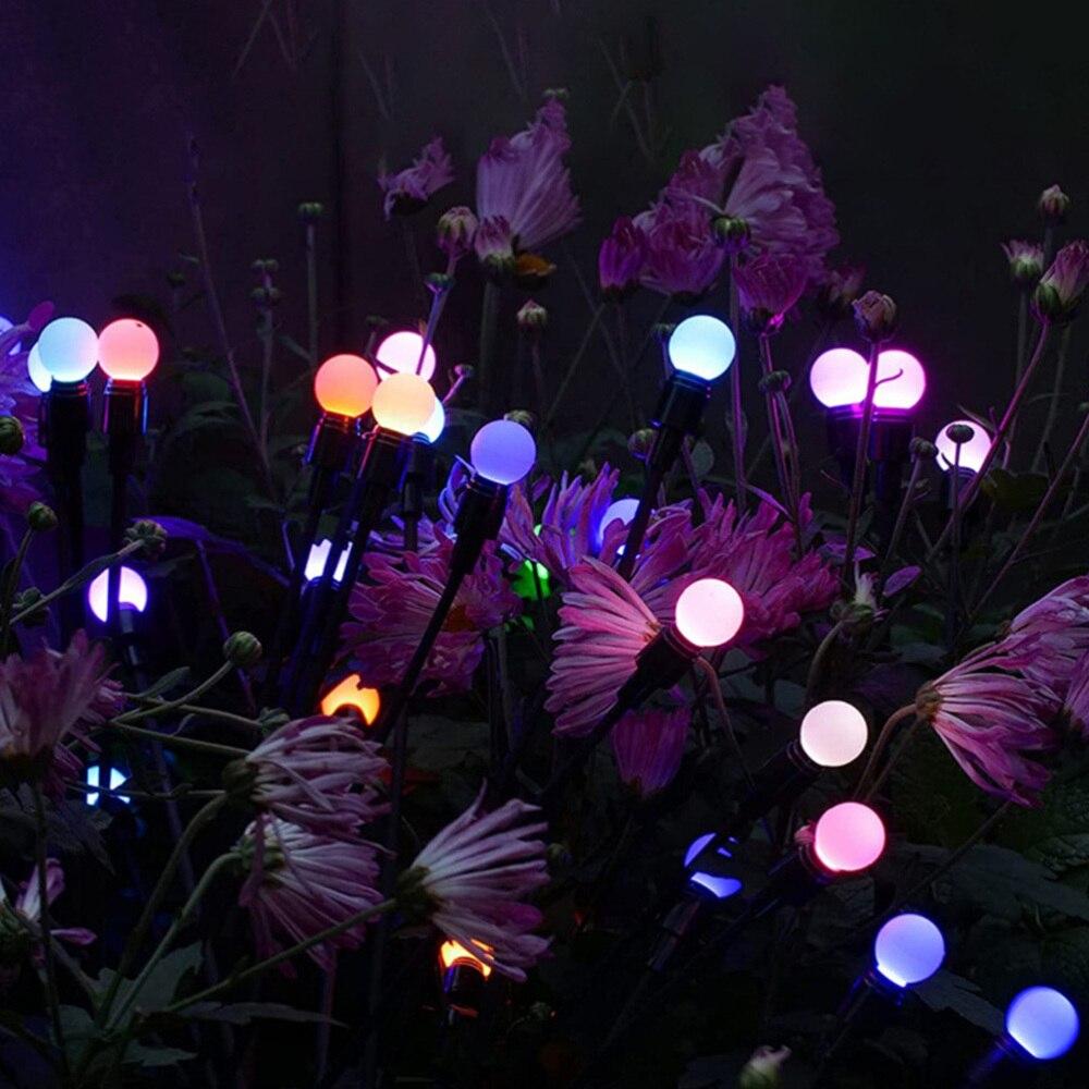 lampada decorativa ao ar livre gramado luz 05
