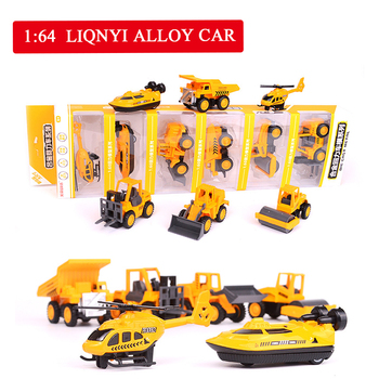 Mini Simulated Alloy Engineering Military Special Police Fire Series Model Children Best Selling Boys Toys