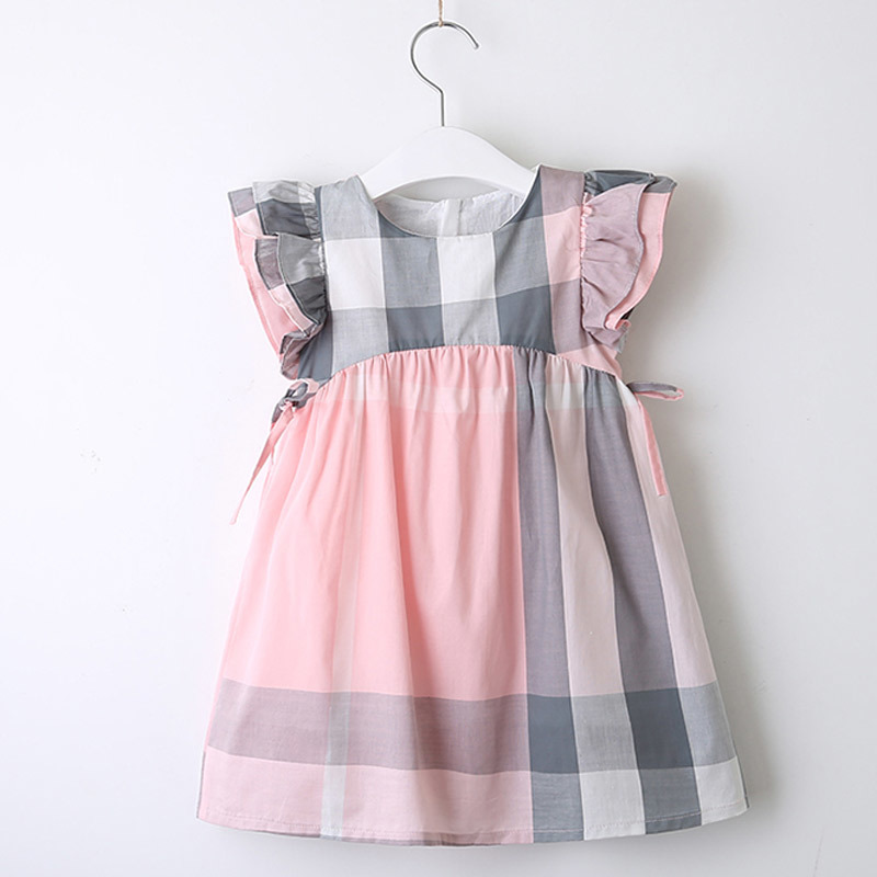 Girls Dresses Summer Style Kids Princess Dress Children Clothing Half Sleeves Casual pattern Design Girls Clothes 40 in Dresses from Mother Kids