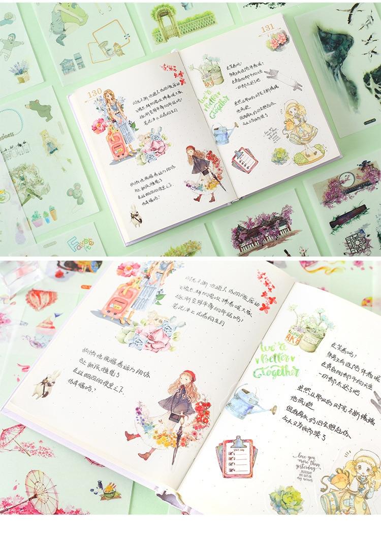 Criativa Adesivos Decorativos Mobile Scrapbooking DIY Craft Adesivo