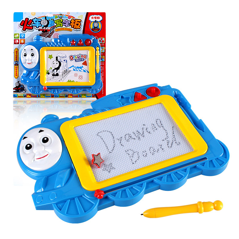 Manufacturers Direct Selling New Style Train Writing Board Toys Children Early Childhood Educational Magnetic Drawing Board Stal