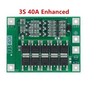 Image 2 - 3S/4S 40A 60A 리튬 이온 리튬 배터리 충전기 보호 보드 18650 BMS 드릴 모터 11.1V 12.6V/14.8V 16.8V 향상/균형