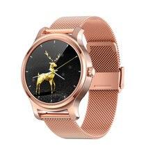 Смарт часы r2 2020 Модные женские спортивные с bluetooth и функцией