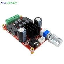 Ses güç dijital güç amplifikatörü kurulu 12V 24V iki kanal stereo D sınıfı 50W * 2 ses güç amplifikatörü iki kanallı stereo modu