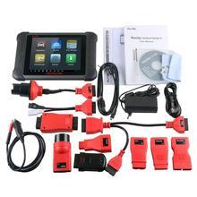 AUTEL MaxiSYS MS906BT автомобильный диагностический инструмент OBD2 полная система DPF ECU кодирующий сканер иммобилайзер ABS специальные тесты Bluetooth DS708