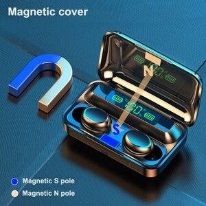Image 2 - Tws Bluetooth Compatibel Oordopjes 2200Mah Opladen Doos Draadloze Hoofdtelefoon 9D Stereo Sport Waterdichte Oordopjes Headsets Met Microfoon