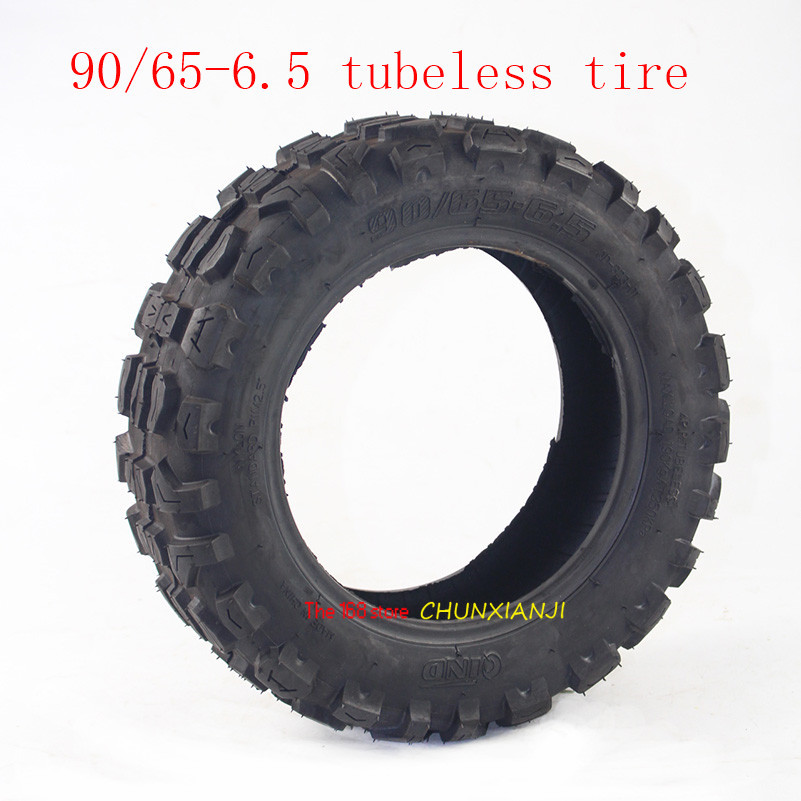 90/65-6.5 tubeless /vacuum tyre Off road tyres Non-slip for Electric Scooter image