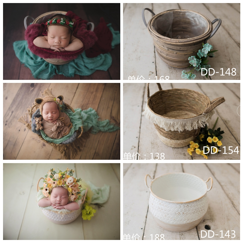 Newborn  Baby Photography Container Baby Posing Props  Newborn Photography Props Accessories