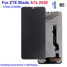 Original For ZTE Blade A7s 2020 A7020 A7020RU LCD Display Touch Screen Digitizer Assembly  For ZTE Blade A7s 2020 A7020 A7020RU