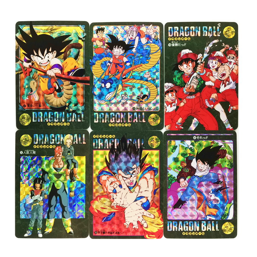 42pcs/set Super Dragon Ball Z Refractive Process Heroes Battle Card Ultra Instinct Goku Vegeta Game Collection Cards
