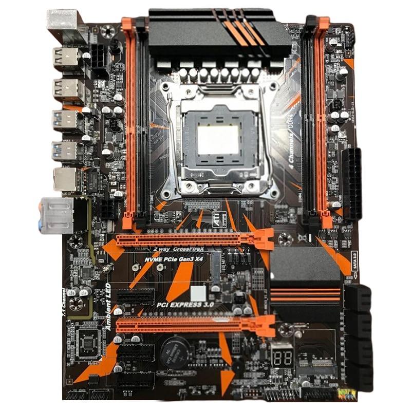 X99 LGA2011-V3 Profissional 4 Canal DDR4 Computador Desktop Motherboard X 99 LGA2011-3 E5 2678 V3