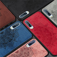 Fabric Cloth Canvas Silicone Case For Samsung